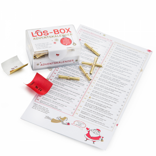 Los-Box Adventskalender