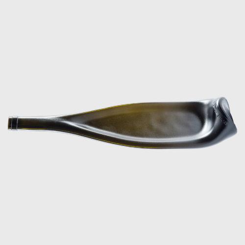 designer servierplatte Mahagoni matt upcycling recycling handgefertigt