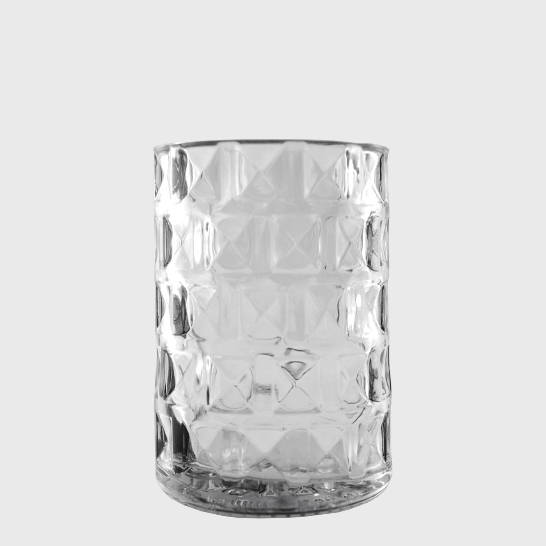 Wodkaglas Oelde handgefertigt glas upcycling recycling