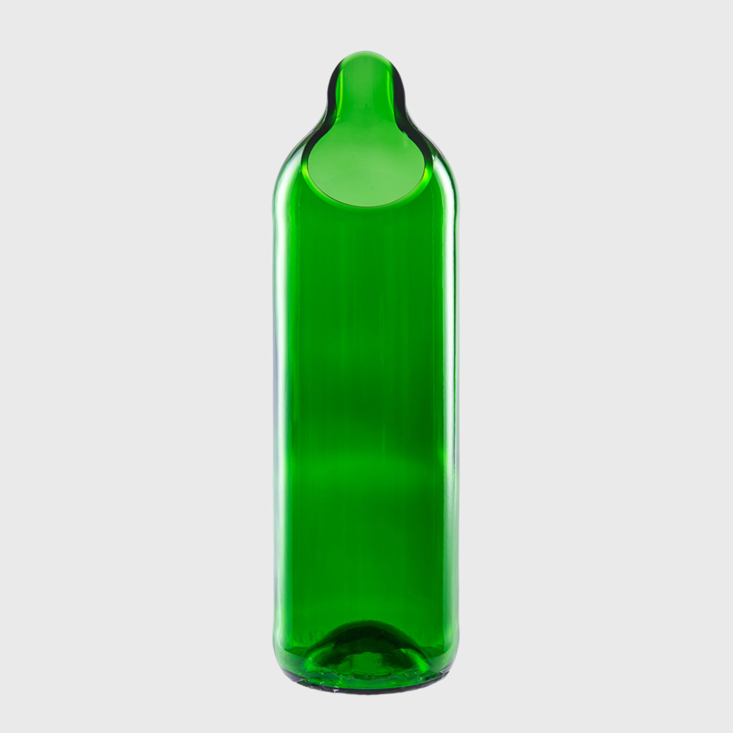 Carafe ice Water Wine Bottle upcycling recycling handmade