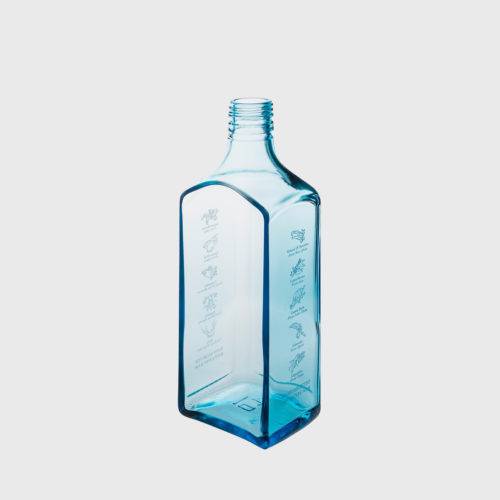 himmelblaue schale Sky mittel handarbeit upcycling recycling