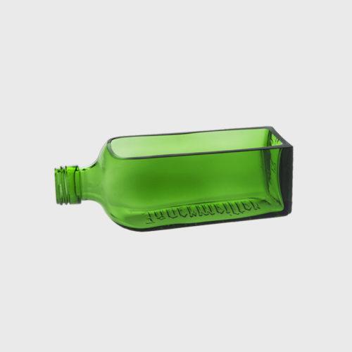 visitenkartenhalter erde waldgrün handgefertigt upcycling recycling